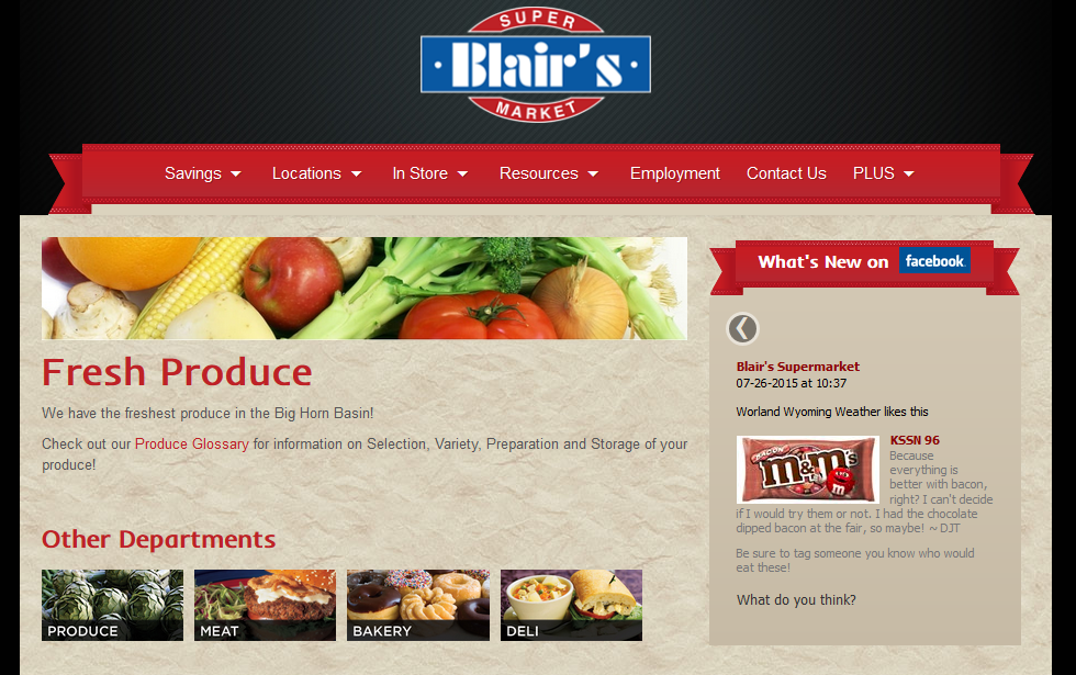 Blairs Grocery Store