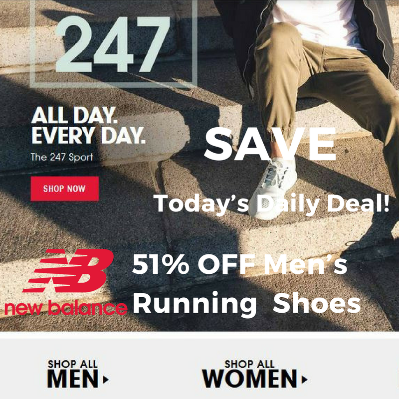 New Balance Athletic Shoes Today's Daily Deal
