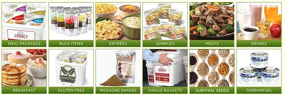 The Best Value in Food Storage Featured Categories