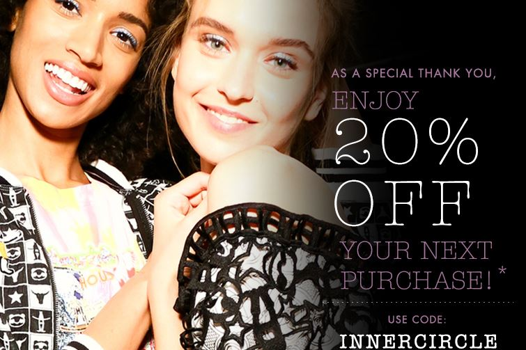 Save 20% off at Stila cosmetics with Promo Code INNERCIRCLE . Offer expires soon