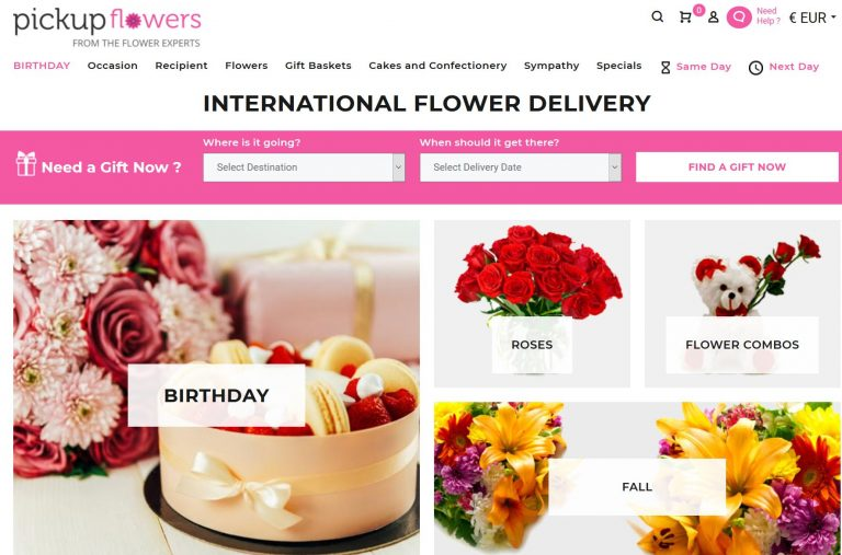PickupFlowers-new year gifts