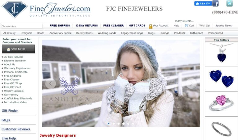 FineJewelers.com-FineJewelers.com- Take 10% off sitewide with coupon code BCEE10 at FineJewelers.com – Shop now and save!