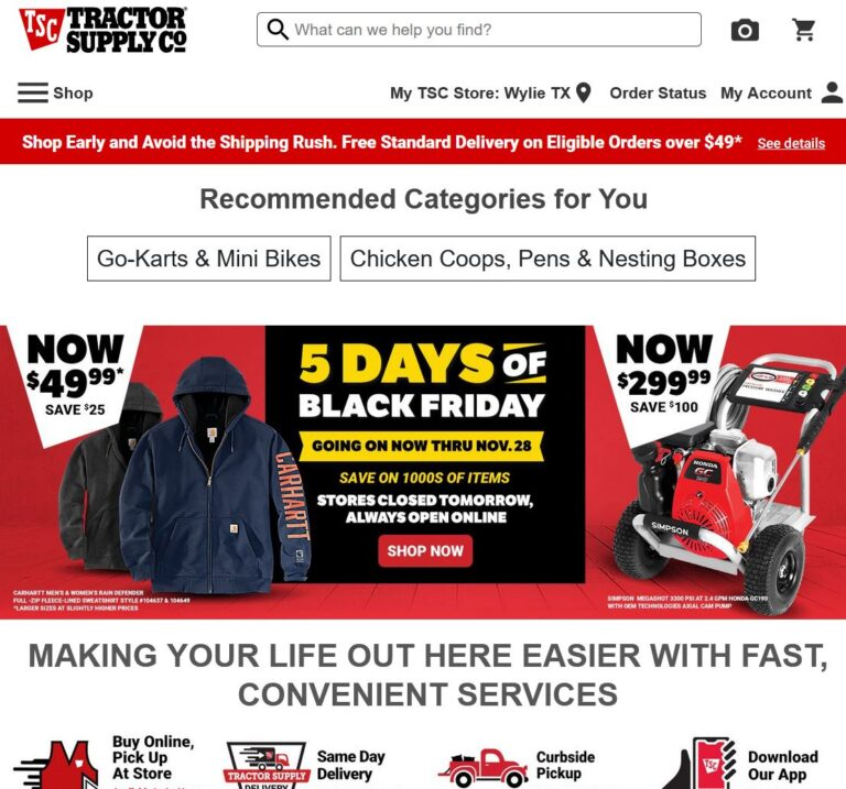 Tractor Supply-Tractor Supply- Tractor Supply Has All Your Daily Needs, Buy Online Pick Up In Store in an hour or less at tractorsupply.com. Shop Now!
