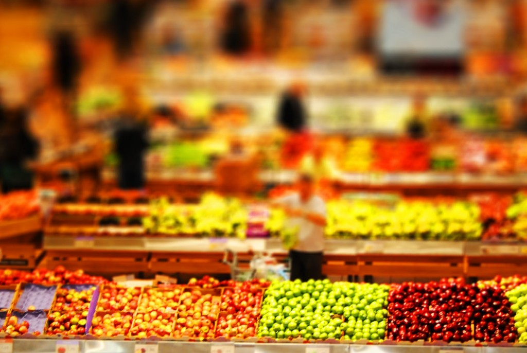 Fruits at Grocery store