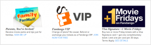 Fandango Free Movie Tickets