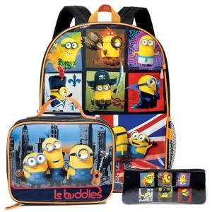 Backpack Set Minions