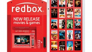 Redbox Movies & Games Rental Kiosk
