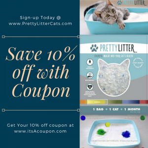 PrettyLitter Save 10% off Your Next Order with Promo Code