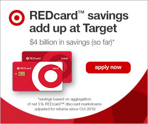 Target REDCard Savings Save 5%