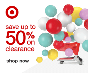 Target 50% off Clearance Sale