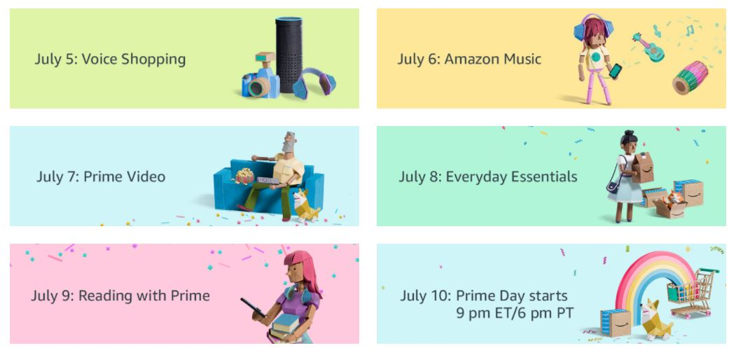 Special Offers Before Amazon's Prime Day 2017