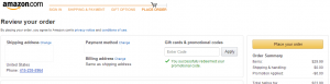 How to redeem Amazon Promo Code