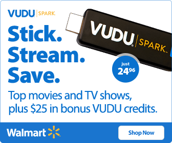 VUDU Stick plus $25 bonus