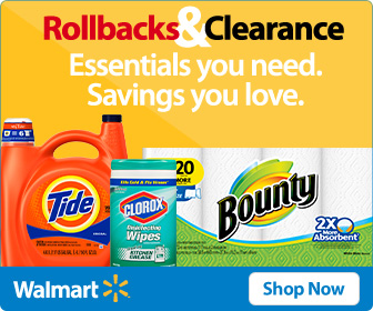 rollbacks and clearance at walmart